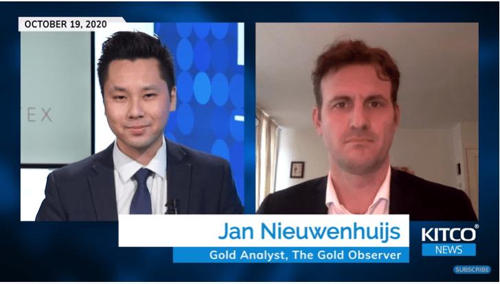 """""""Chế độ Bản vị vàng"""" mới sắp ra đời, cú đúp để 'thiết lập lại tiền tệ' – Jan Nieuwenhuijs"""