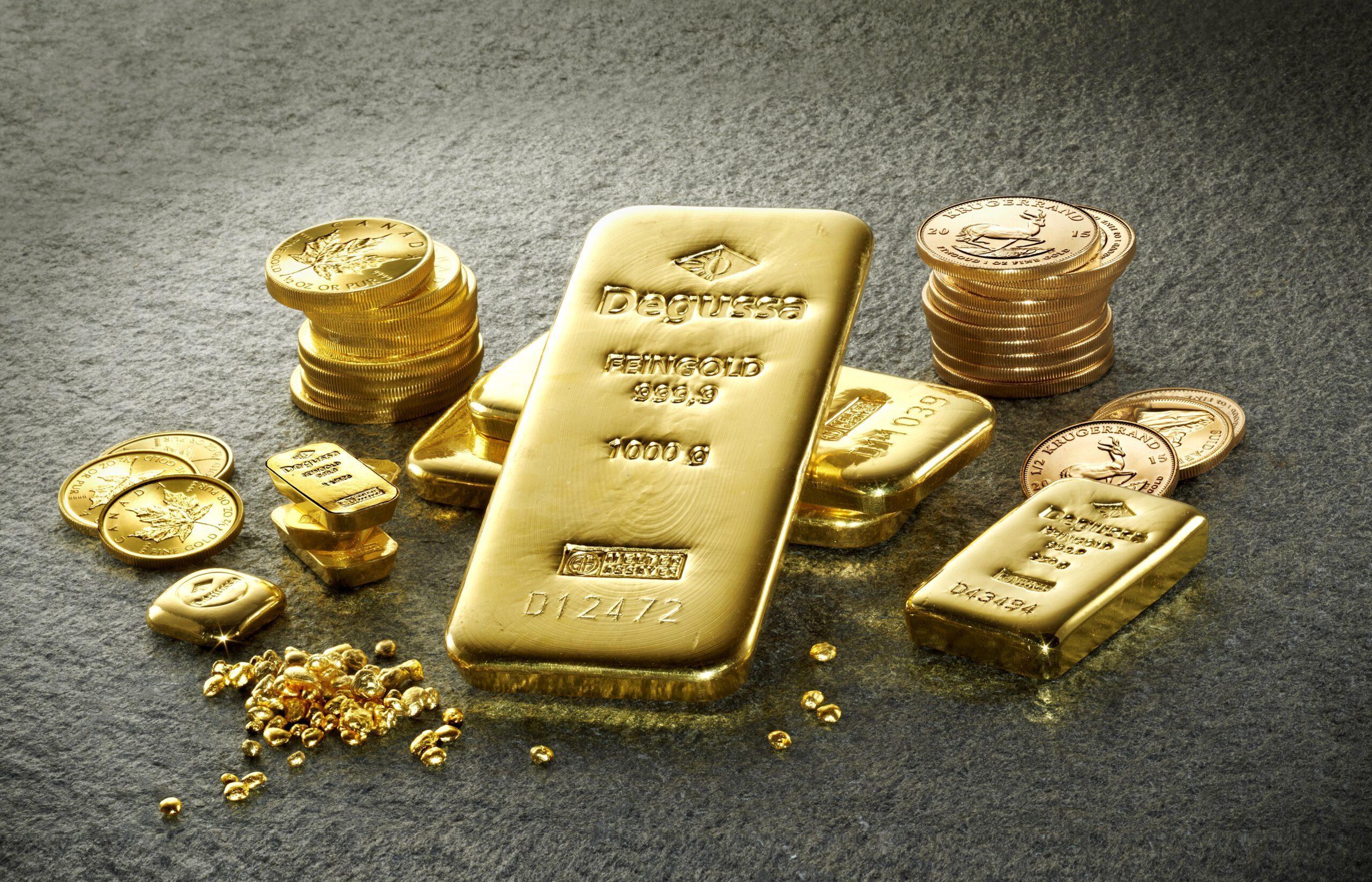 Vàng đang hướng tới tuần tăng thứ ba liên tiếp hàng tuần