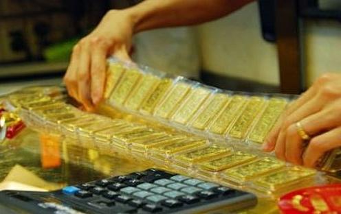 Cùng chiều với giá vàng thế giới, SJC giảm 100.000 đồng/lượng