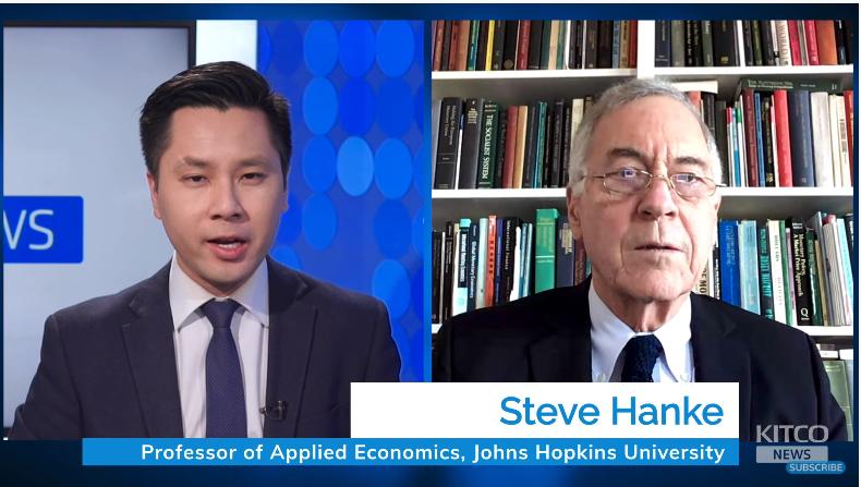 Giáo sư Steve Hanke: Bitcoin sẽ rơi vào 'vòng xoáy tử thần' xuống 0 USD và Chủ tịch Fed Powell đang rất 'ảo tưởng'