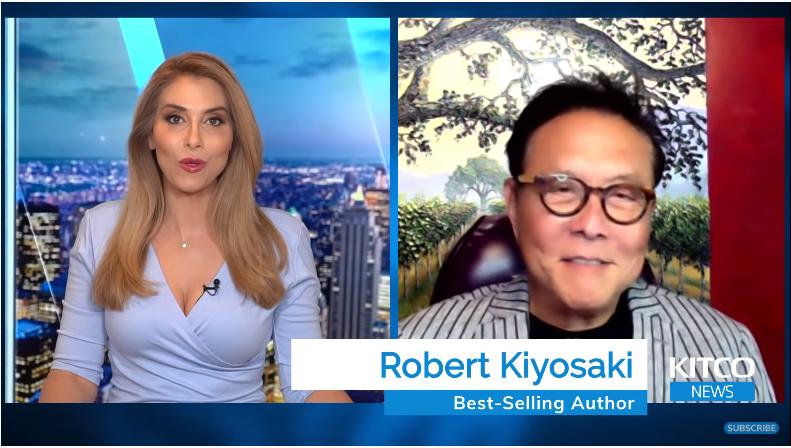 """""""Cha giầu – Cha nghèo"""" Robert Kiyosaki: Bitcoin sẽ hơn 1 triệu USD trong 5 năm nữa nhưng tôi vẫn thích vàng và bạc hơn"""