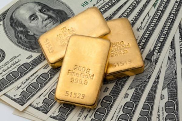 Dữ liệu kinh tế tốt nhưng USD không tăng, Vàng đẩy lên mức cao nhất gần 2 tuần