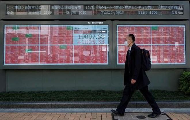 CK Nhật Bản giảm sâu vì Covid-19, cổ phiếu Trung Quốc tăng sau quyết sách của NHTW