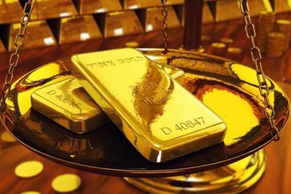 Vàng thế giới tăng nhẹ khi đồng USD và lợi suất trái phiếu Mỹ giảm