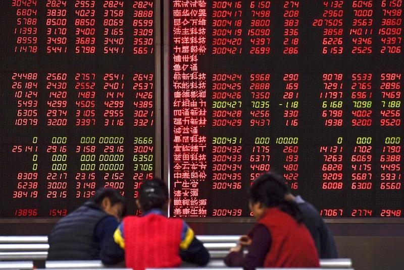Sáng 21/6: CK châu Á đỏ rực, Nikkei có lúc rớt hơn 4% về đáy tháng